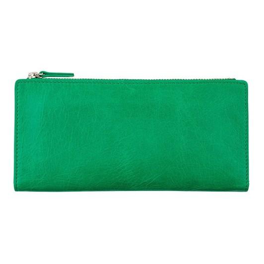 Status Anxiety Dakota Emerald Wallet