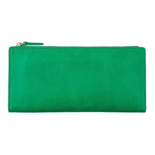 Status Anxiety Dakota Emerald Wallet