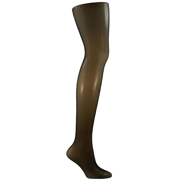 Columbine 10D Sheer To Waist - Shimmer Leg - ebony