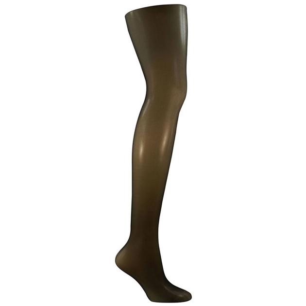 Columbine 12D Sheer Comfort - Shimmer Leg - ebony