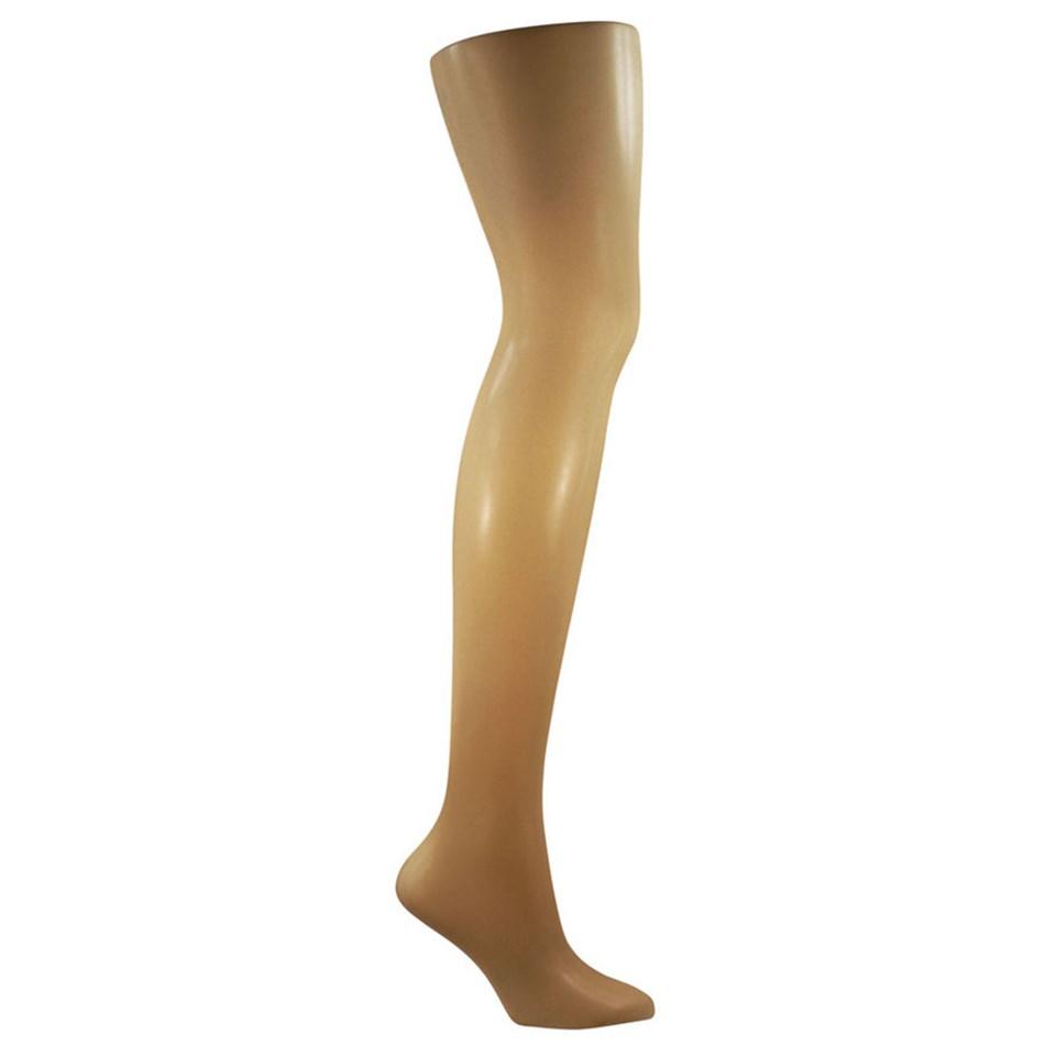 Columbine 12D Sheer Comfort - Shimmer Leg - honey