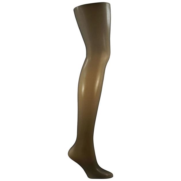 Columbine 10D Sheer Waist - Matte Leg - ebony