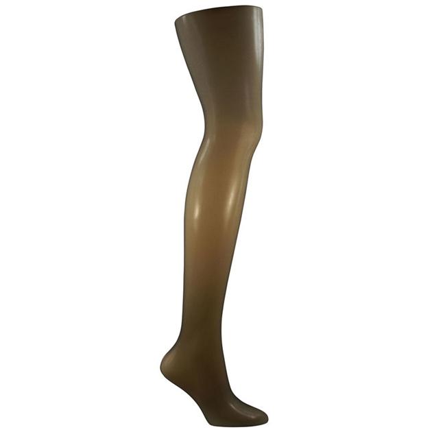 Columbine 10D Sheer Waist - Matte Leg - midnight