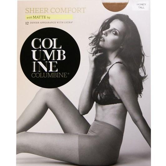 Columbine 12D Sheer Comfort - Matte Leg