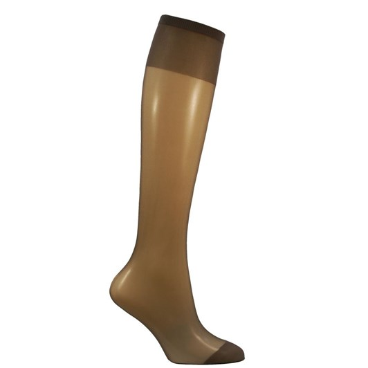 Columbine Sheer Kneehigh - Matte Leg