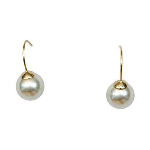 Gregory Ladner Faux Pearl Earrings