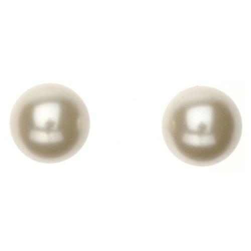 Gregory Ladner E/R - 10mm Cream Pearl Stud Gold