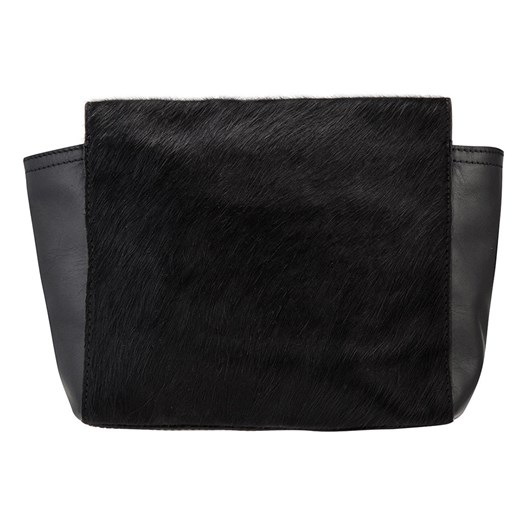 Status Anxiety The Ascendants Black-Black Fur Bag