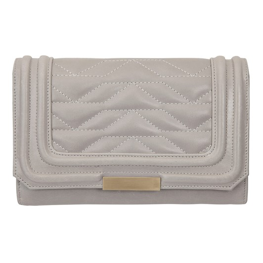 Status Anxiety Subversive Light Grey Wallet