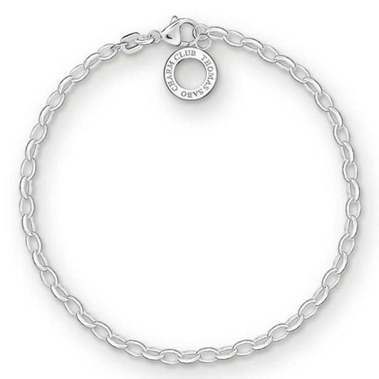 Thomas Sabo C/Club Fine Belcher Bracelet 17.5Cm
