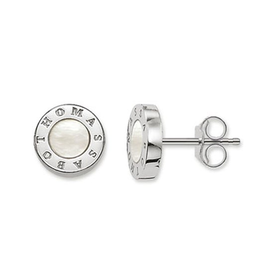 Thomas Sabo #5 Mother Of Pearl Stud Earrings