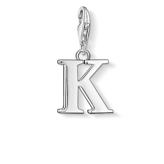 Thomas Sabo Charm Club Letter 'K'