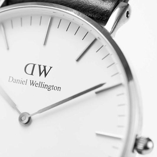 Daniel Wellington Classic St Mawes Watch Silver 36Mm