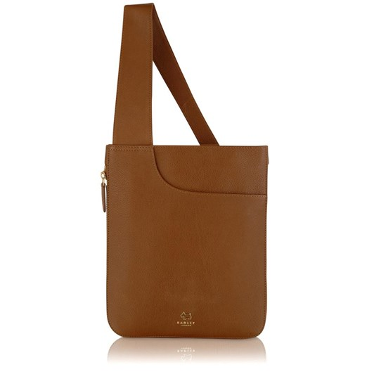 Radley Pockets Medium Ziptop Cross Body Handbag Honey