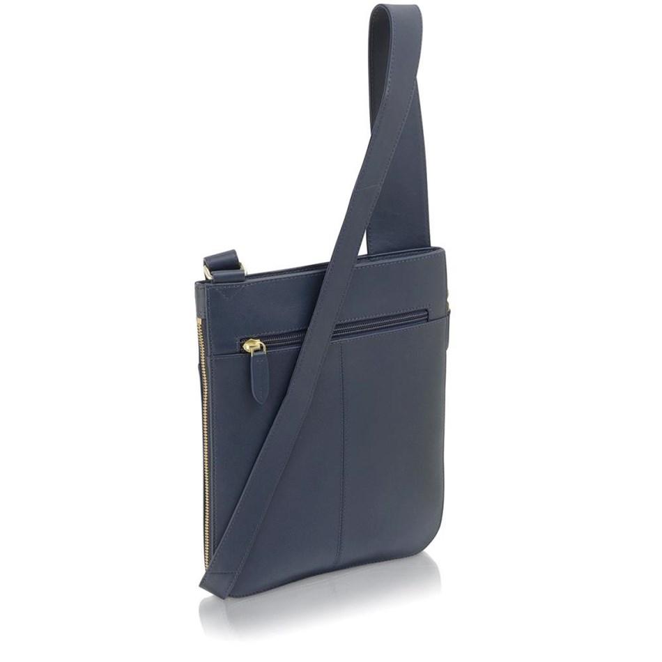 Radley Pockets Medium Ziptop Cross Body Handbag Ink -