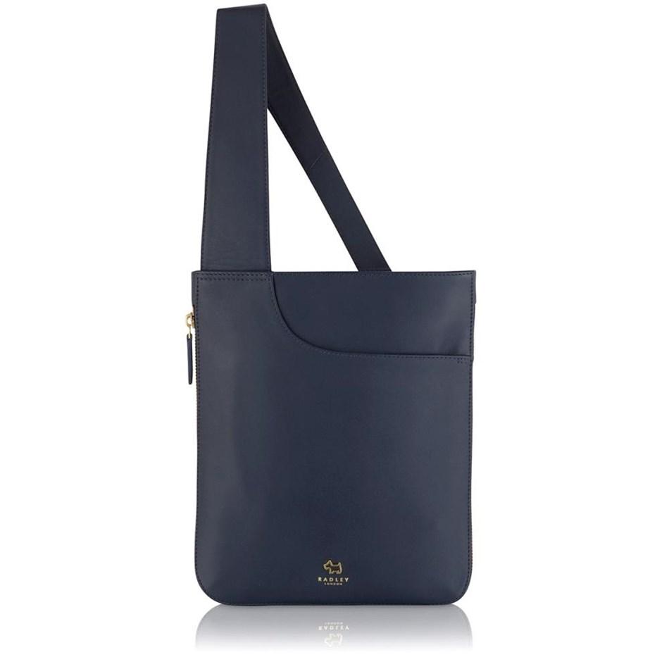 Radley Pockets Medium Ziptop Cross Body Handbag Ink - ink
