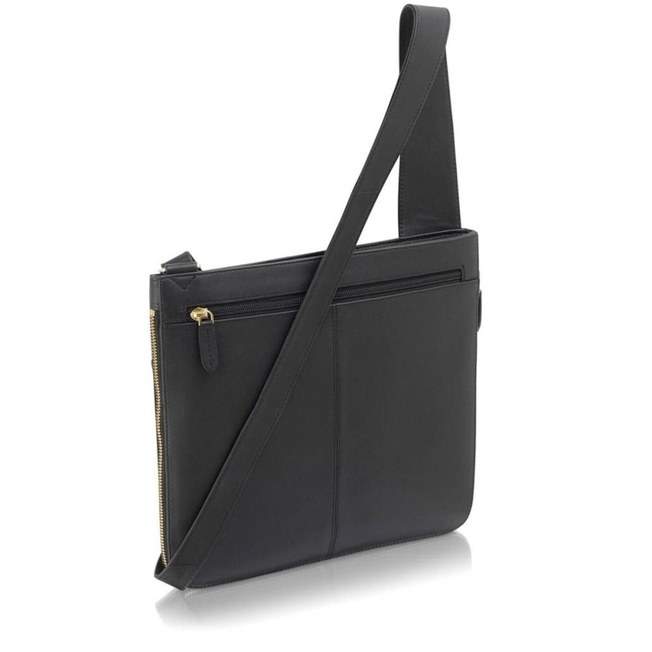 Radley Pockets Large Ziptop Cross Body Handbag Black -