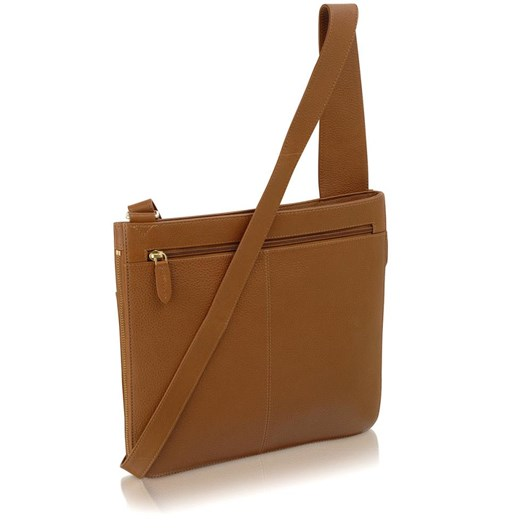 Radley Pockets Large Ziptop Cross Body Handbag Honey