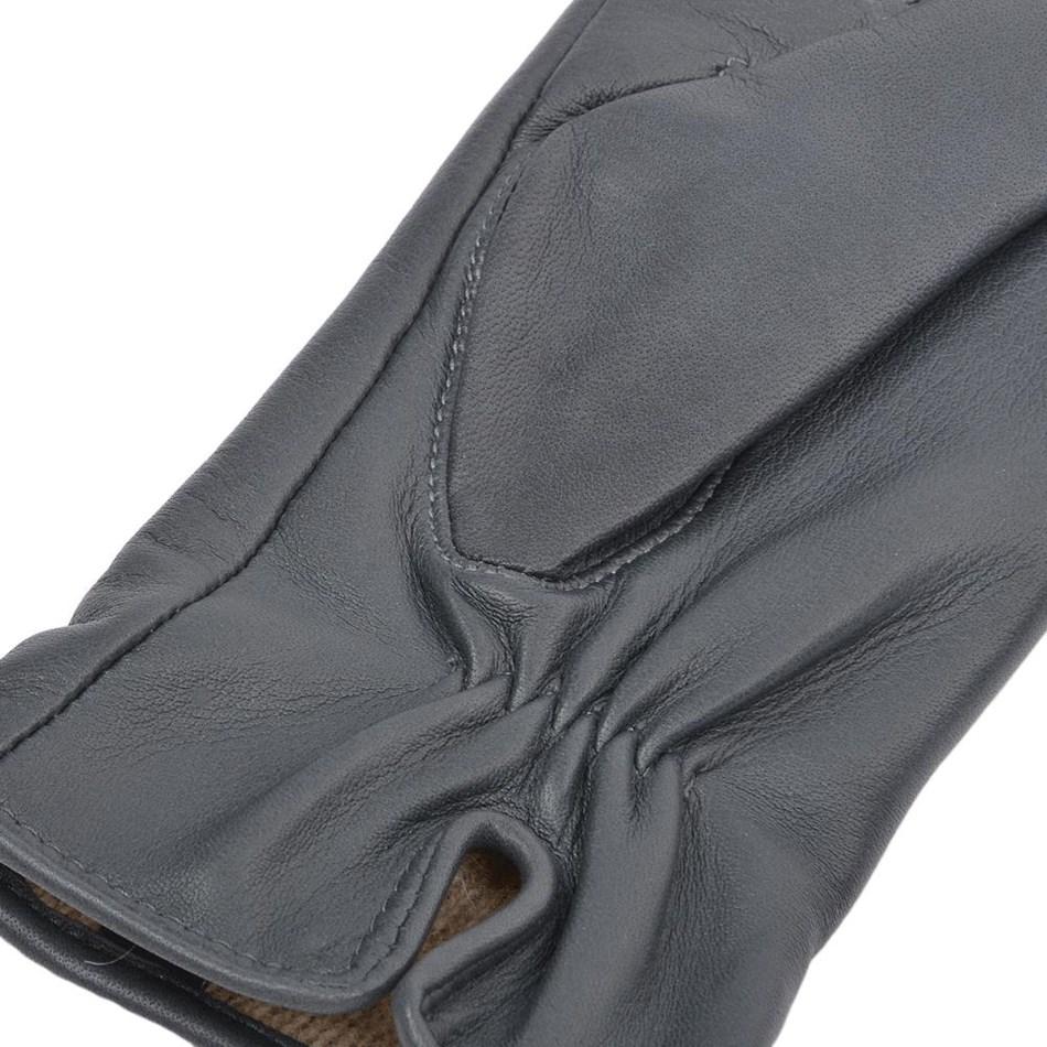 Ashwood 2 Point Leather Glove - grey