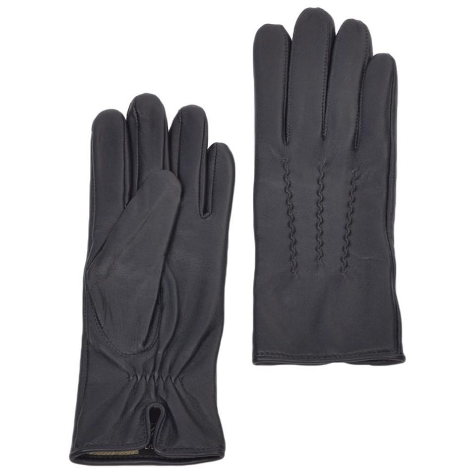 Ashwood 2 Point Leather Glove - navy