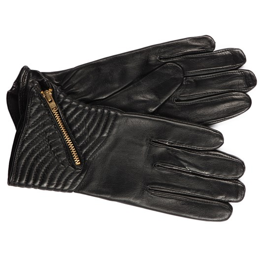 Ashwood Leather Glove With Zip