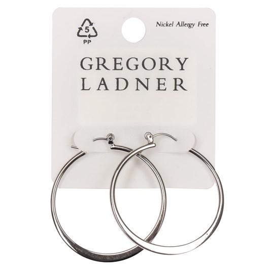 Gregory Ladner Earring Oval Hoop