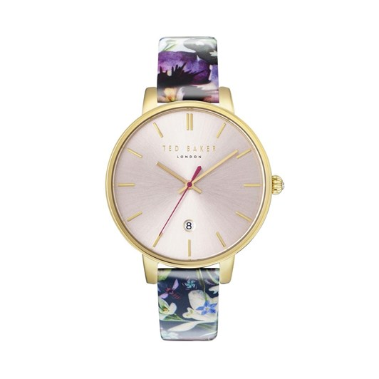 Ted Baker Watches 3Hd Dte Gld Pur Mlti