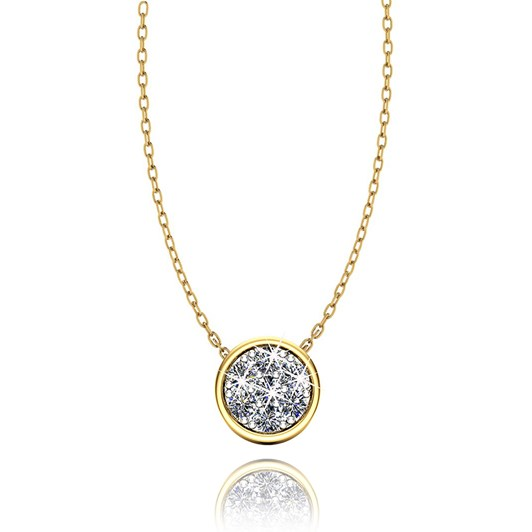 Love In A Jewel The Chic Pendant (Yellow Gold) with Diamonds