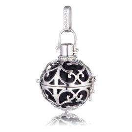 Engelsrufer  Silver Black Soundball Pendant Med