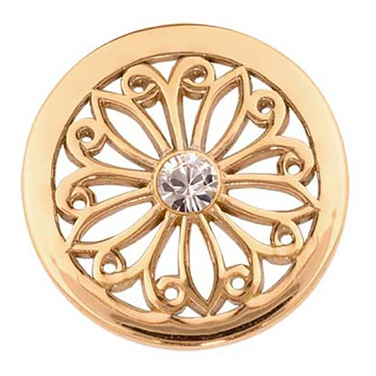 Nikki Lissoni Oriental Flower G/P 23Mm Coin