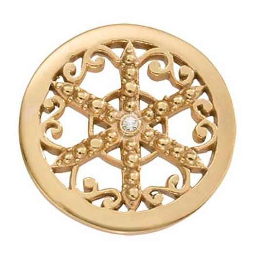 Nikki Lissoni Wheel Of Fortune G/P 23Mm Coin