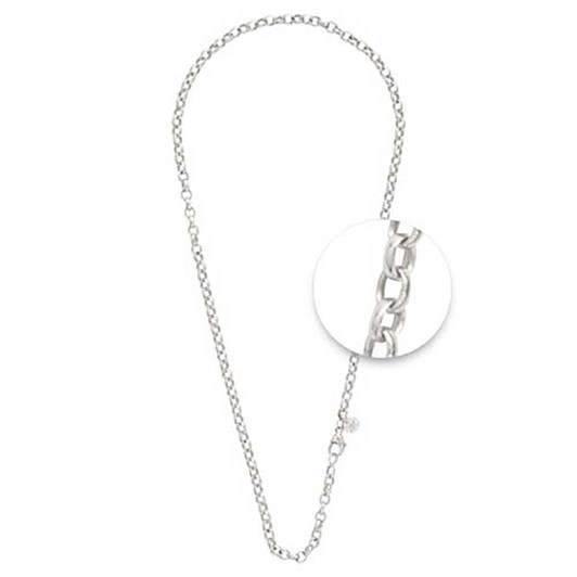 Nikki Lissoni Necklet Silver Plated 4Mm X 70Cm