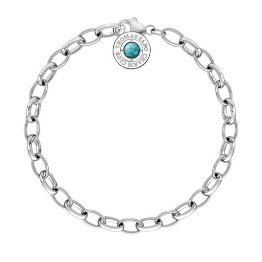 Thomas Sabo Charm Club Summer Turq B/Let 14.5Cm