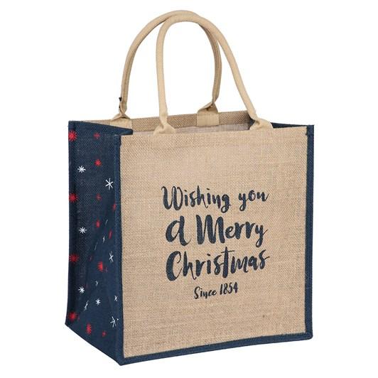 Ballantynes Christmas Jute Bag