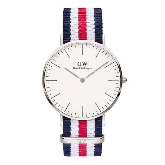 Daniel Wellington Canterbury 40Mm Watches - Silver