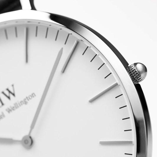 Daniel Wellington Sheffield 40Mm Watches - Silver