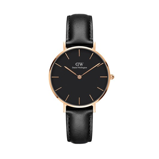 Daniel Wellington 32Mm Classic Petite - Rose Gold Black Dial