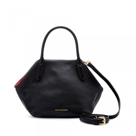 Lulu Guinness Small Peekaboo Lip Valentina Handbag