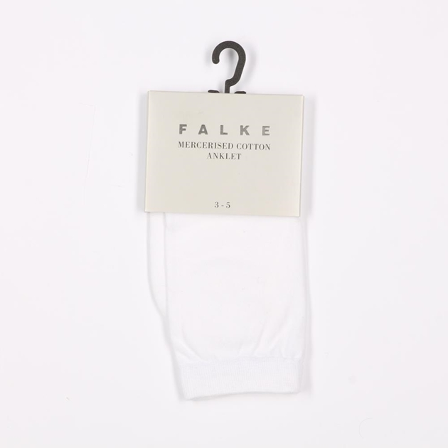 Falke Mercerised Cotton Sock - 0200 white