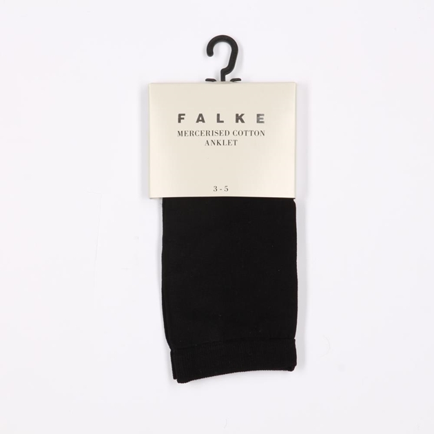 Falke Mercerised Cotton Sock - 0300 black
