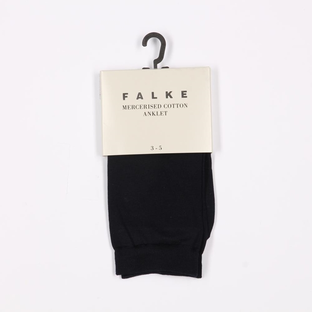 Falke Mercerised Cotton Sock - 0612 navy