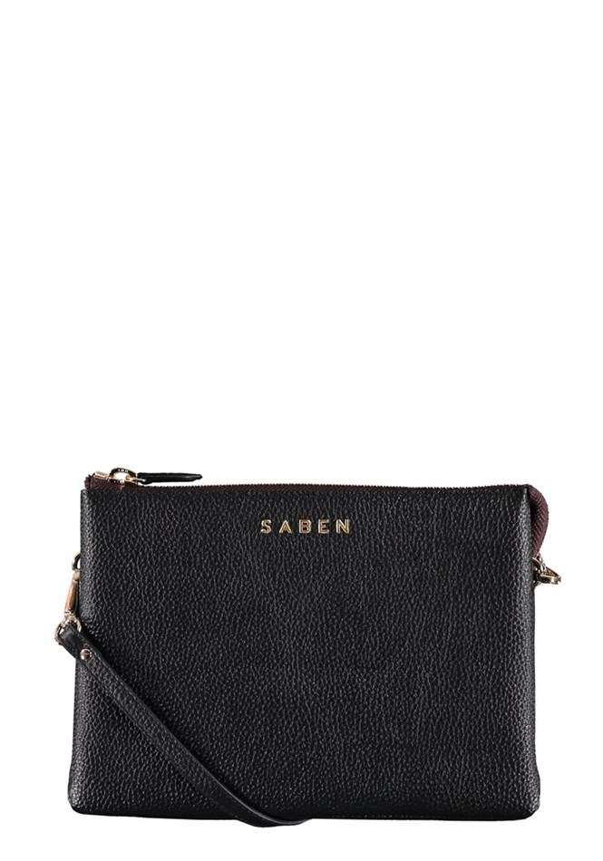 Saben Tilly's Big Sis Leather Handbag - black