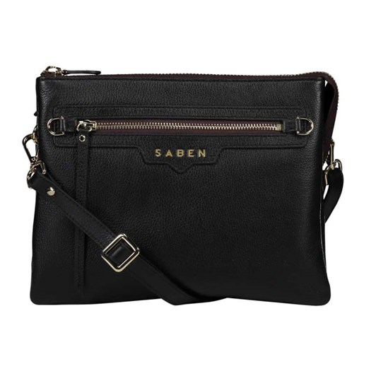 Saben Matilda Plain Leather Handbag