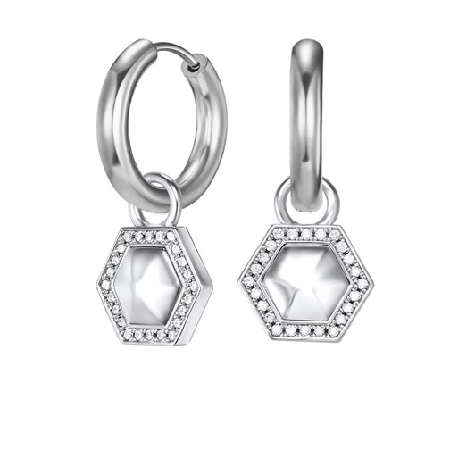 Kagi Geometry Ear Charms - Sterling Silver