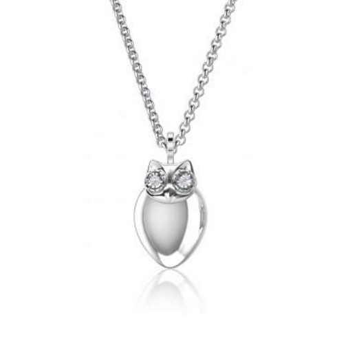 Kagi Luna Necklace - Childs Length - Sterling Silver