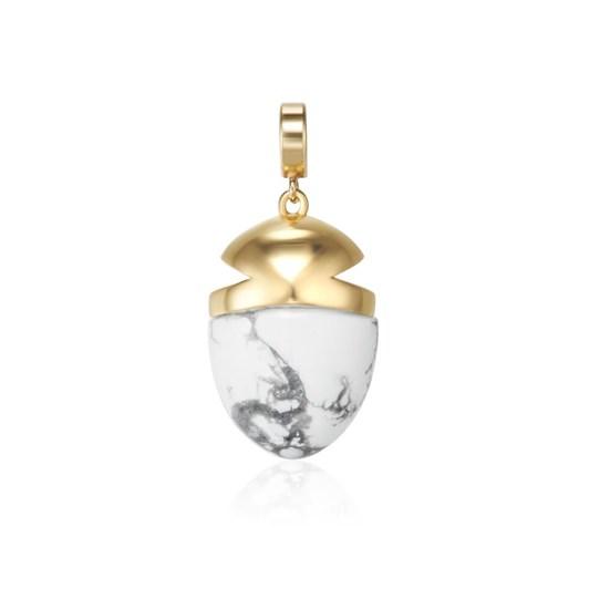 Kagi Howlite Amulet
