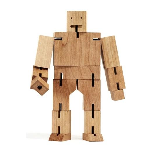 Areaware: Cubebot Medium - Natural