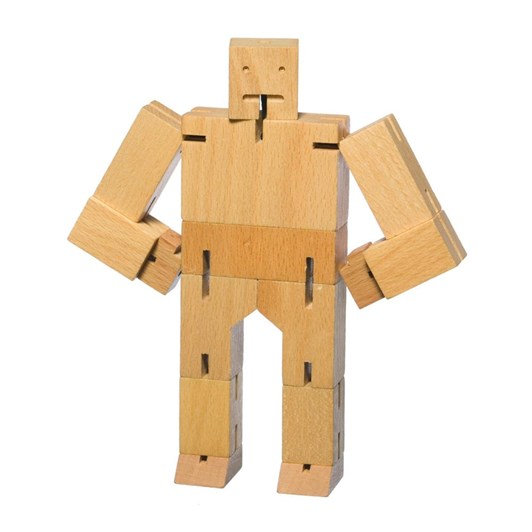 Areaware: Cubebot Small - Natural