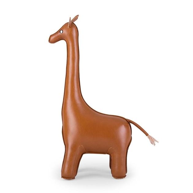 Zuny: Bookend Classic Giraffe Tan - tan