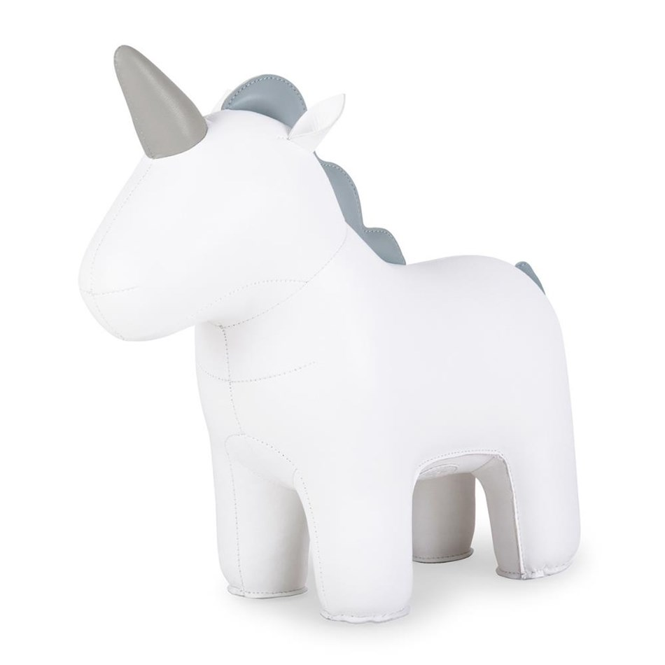 Zuny: Doorstop Unicorn White - white